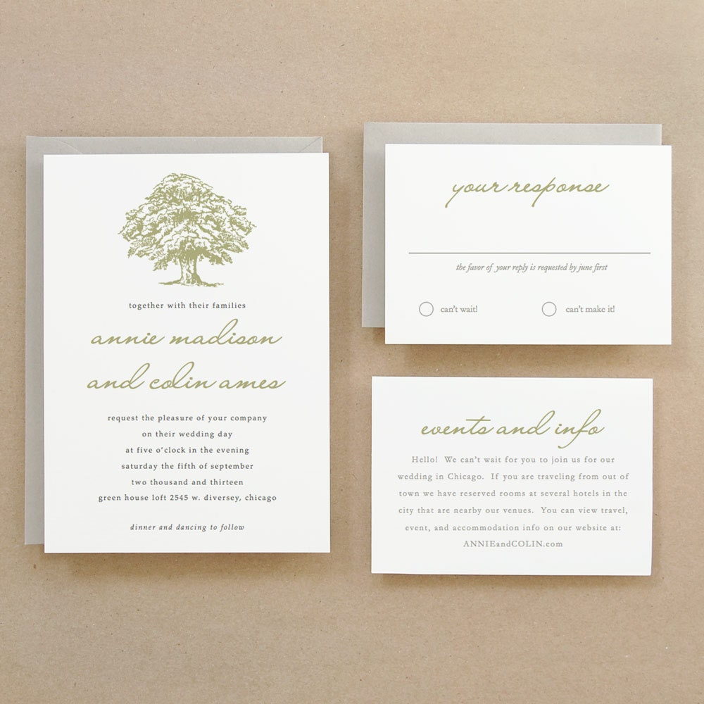 Printable wedding invitation template instant download for Free printable tree wedding invitations