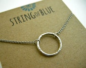 RESERVED Custom Infinity Necklace Stringofblue