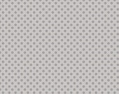 Gray Tone on Tone Small Dot by Riley Blake - 1 Yard