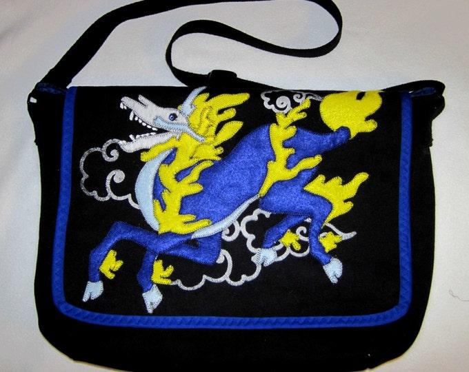 Clearance Kirin Skull Shoulder Bag (small computer/tablet)