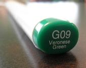 Copic Sketch Marker - G09 - Veronese Green - Destash