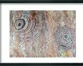 pittura astratta italiana mano marmorizzati carta 19,5