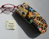 Padded Eyeglass / Sunglass Case - MARY ENGELBREIT Colorful Print Eyeglass Case specially for Kids or Young at Heart