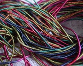 New - Hand Dyed GYPSY TREASURE cord, 6 yards