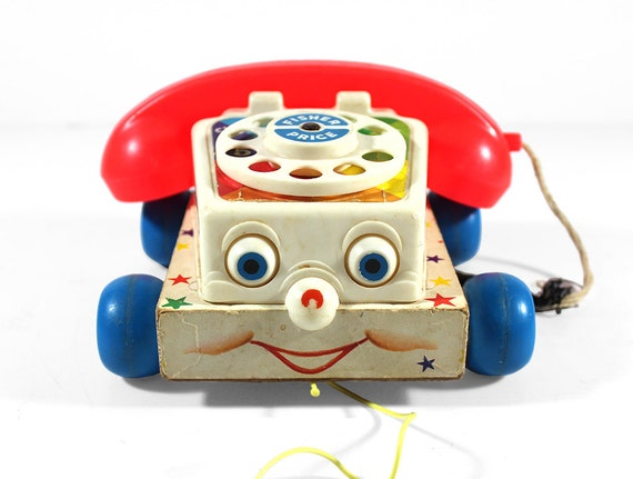 Sale 1961 Fisher Price Chatter Phone