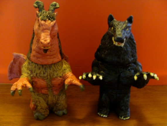 Jersey Devil And The Beast Of Bray Road S/P shakers(standard Size)*Made To Order*