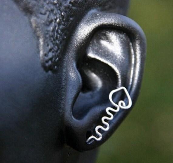 Sterling Silver Stud Earrings Pin Style