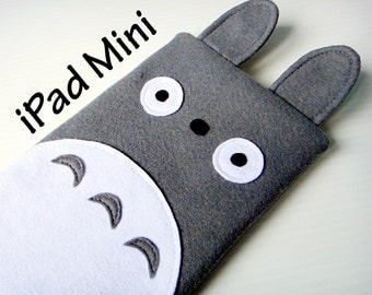 Totoro iPad Mini Case / Tablet Case / Custom Gadget Sleeve