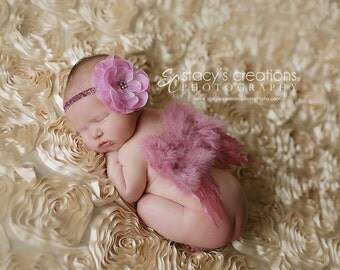 Baby Angel wings, . Ready to ship. Great newborn photography prop