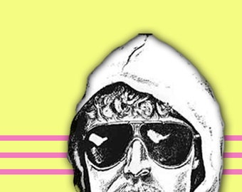 Unabomber Youre the Bomb Valentine card blank all occasion