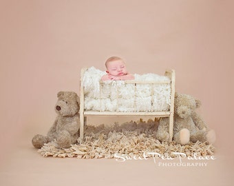 Newborn Baby Photography Prop Digital Backdrop for Photographers -Bear Friends