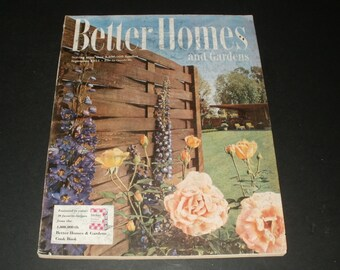 Vintage Better Homes and Gardens Magazine September 1951 - Huge Magazine 302 Pages - Vintage Ads Scrapbooking Retro Collectible