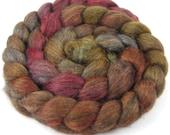 Spinning Fiber - Alpaca & Silk Combed Top / Roving - Silk Tiger