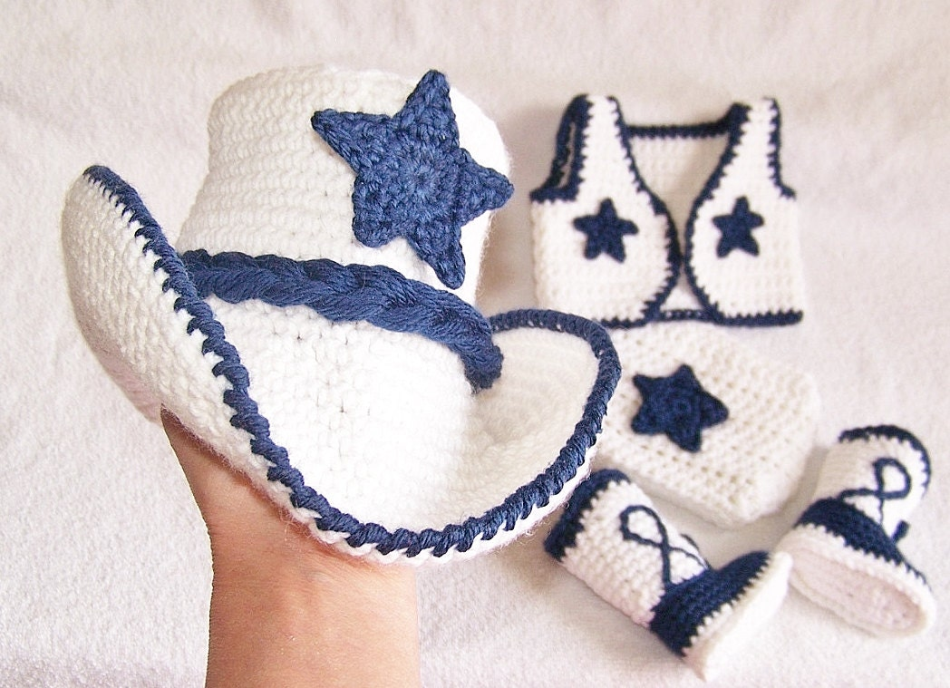 dallas cowboys baby shower hat set boots by babypropsbyconnie