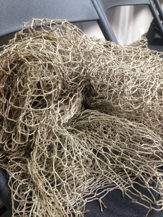 Items similar to decorative fishing nets 10x5ft on etsy for Decorative fishing net