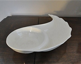 Vintage Calafornia Pottery Chip and Dip Dish