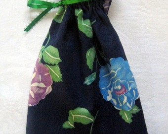 Blue Floral Gift Bags
