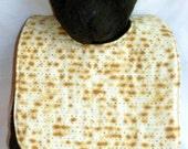Reversible Matzoh Matzah Passover Baby Bib