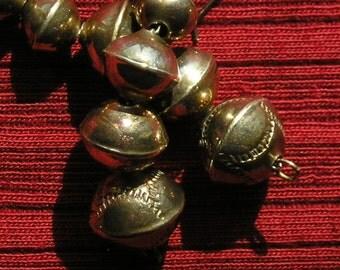 Long Southwest Sterling Silver Stamped Bench Bead Dangle Earrings