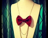 bow ties are cool chain necklace