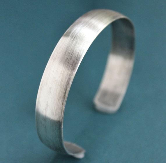 Mens Silver Cuff , Mens Silver Bracelet, Mens Silver Bangle