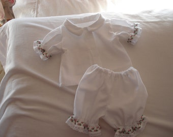 Two piece waldorf doll outfit for 16 inch doll
