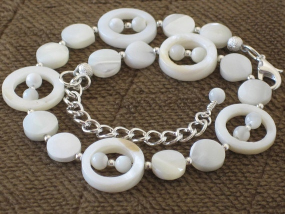 Natural Ivory Shell Anklet Beach Wedding Bridesmaids Gifts Gifts