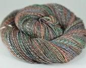 Rustling - 50/50 superwash merino/tencel 3-ply handspun yarn - sport, 191 yards