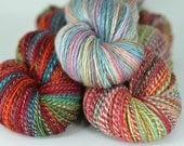 RESERVED - Custom spinning - 4 skeins of handspun yarn