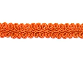 "E1901 Rust Orange Gimp Sewing Upholstery Trim 1/2"" (E1901-RST)"