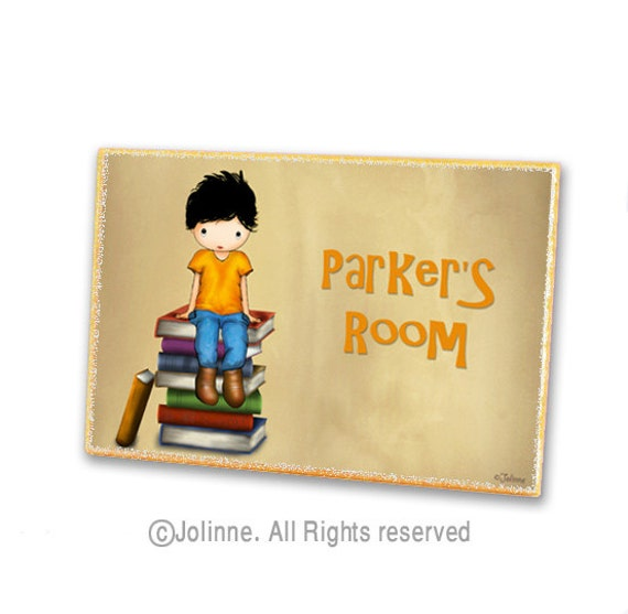 Items similar to door sign kids personalized toddler for Signs for kids rooms