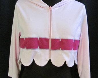 Princess Bubblegum Light Pink Jacket Costume Adventuretime Cosplay Adult Women's Size