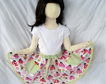 IN STOCK Toddler Girls Twirly Circle Skirt Size 3T - 4T