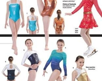 Jalie Gymnastics Leotard Figure Skating Costume Sewing Pattern  2792