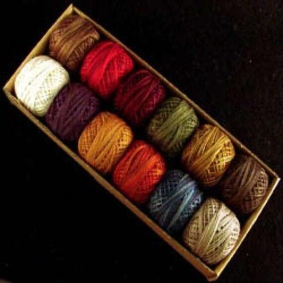 Valdani Perle Cotton Size 12 Embroidery Thread Artist Palette