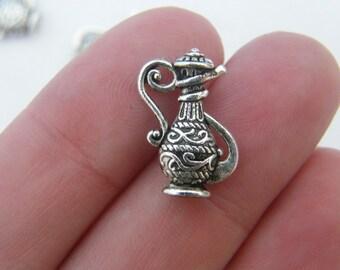 6 Jug charms tibetan silver FD75