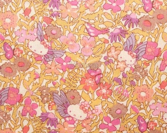 Liberty tana lawn - Fairy Tale Garden - Pink mix