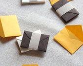 Tiny Love Notes Variety Pack - Marigold and Brown