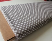 Cotton Dots Small by Riley Blake Designs, Cotton Dots Gray 1/2 yard, more yardage in stock