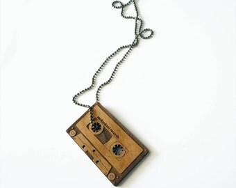 Cassette Necklace by Vectorcloud