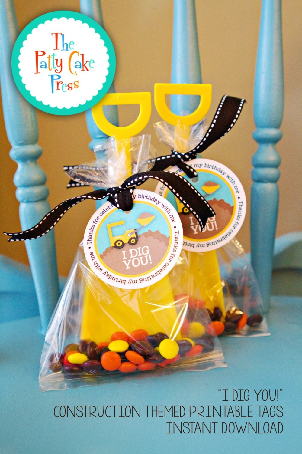 This is a photo of Shocking Printable Party Favor Tags