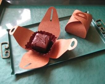 25 Salted Caramel Bonbon Favors