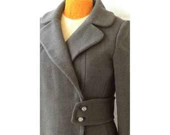 Mod 1960s Knit Coat