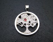Sterling Tree of Wisdom Pendant