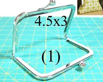 4.5x3 Nickel-free metal purse frame(TM)