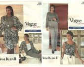 LOT of 2 VOGUE CAREER patterns for Anne Klein.-