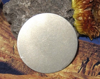 Nickel Silver 20g 50mm Blank Disc Round Circle Metal Blanks Shape Form
