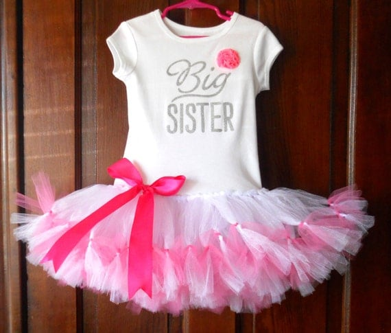foto de Big Sister Pettitutu Tutu Dress Size 4 Big Sister Tutu Dress