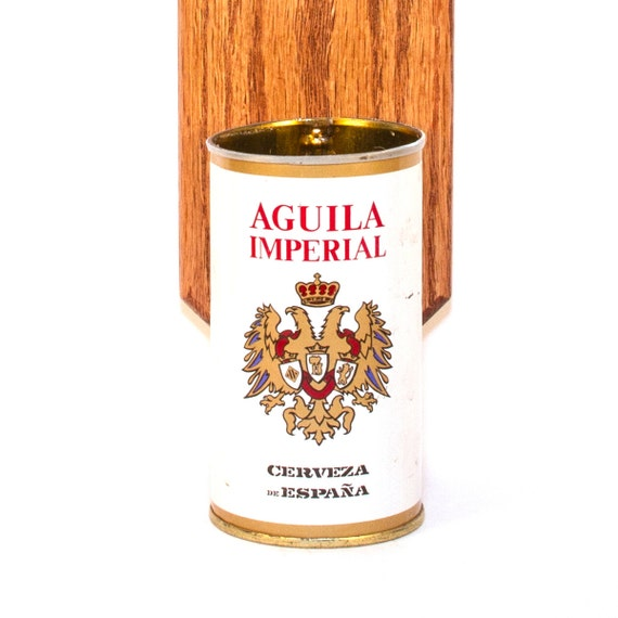 aguila cerveza wall mounted bottle opener with vintage spanish. Black Bedroom Furniture Sets. Home Design Ideas