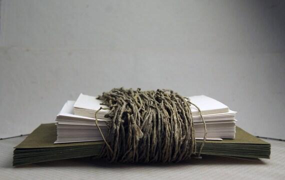 Seed Paper Invitation Kit 6x9 folding DIY Wedding